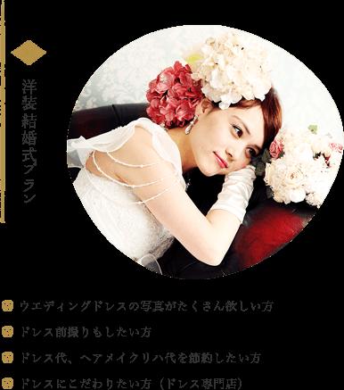 洋装結婚式プラン