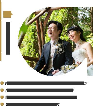 オリジナル結婚式プラン