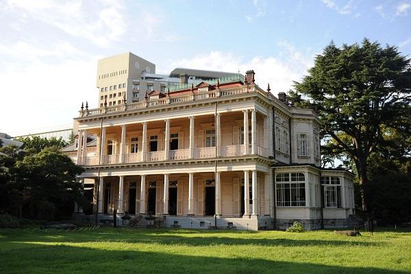 和装前撮り 旧岩崎邸
