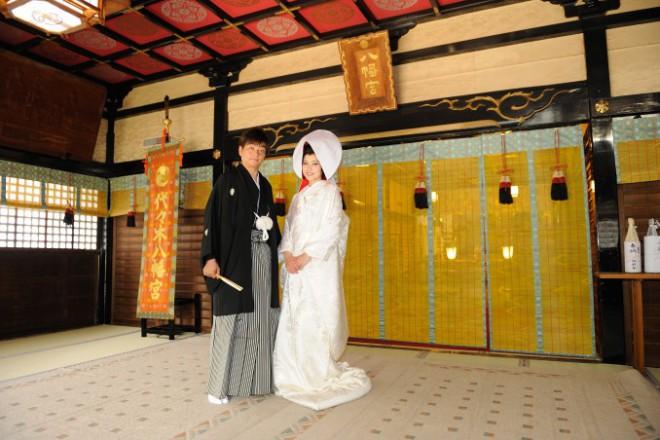 代々木八幡宮 結婚式 白無垢