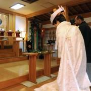 星川杉山神社結婚式 白無垢レンタル着付けヘアメイク
