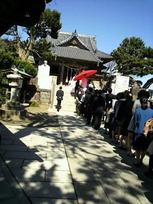 森戸神社結婚式 白無垢レンタル着付けヘアメイク 出張ブライダル