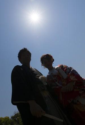 和装前撮り東京結婚式写真