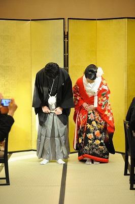 ホテル椿山荘東京錦水 結婚式 打ち掛け着付けとヘアメイク スナップ撮影
