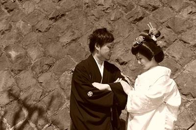 写真だけの結婚式和装