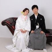 結婚式 白無垢和装前撮りスタジオ