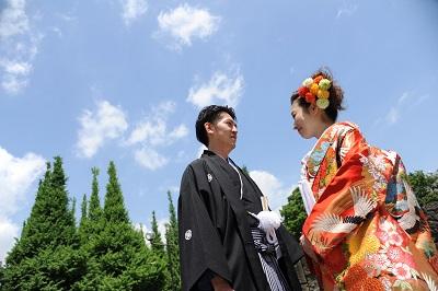 和装前撮り東京 神宮外苑銀杏並木