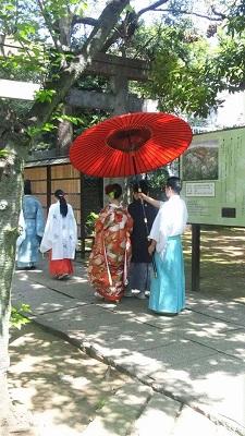 赤坂氷川神社結婚式 着付け