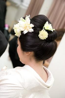 結婚式 日本髪