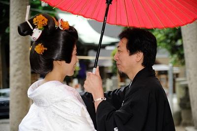 小野照崎神社結婚式 白無垢レンタル着付けヘアメイク スナップ