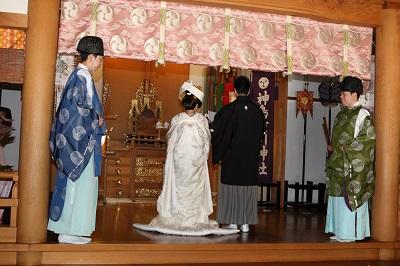 神鳥前川神社結婚式 白無垢レンタル着付けヘアメイク