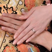 結婚指輪 前撮り