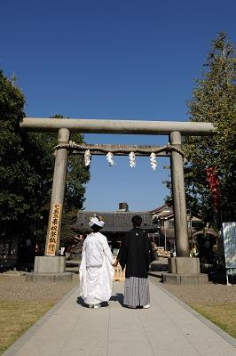 白無垢着付け 神社