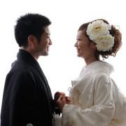 結婚式神社白無垢