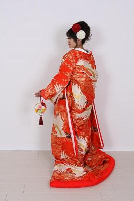 打掛着付けとヘアメイク東京結婚式