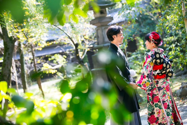 赤坂氷川神社結婚式 色打掛着付けとヘアメイク