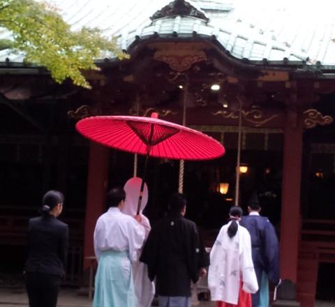 赤坂氷川神社結婚式白無垢レンタル