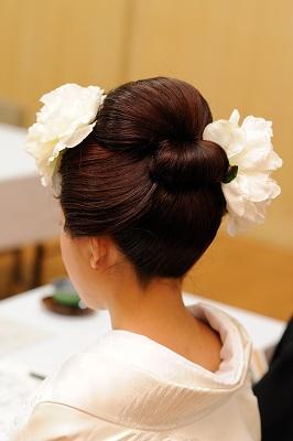 結婚式 地毛新日本髪