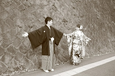 和装前撮り東京ロケ