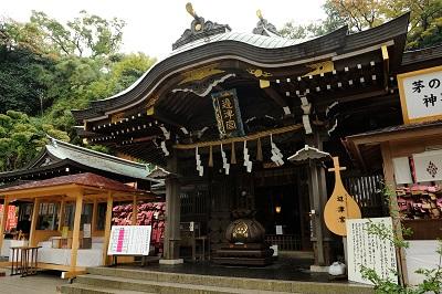 江島神社結婚式 色打掛着付けレンタルヘアメイク