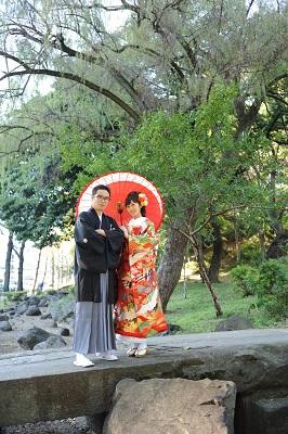 東京タワー結婚式写真