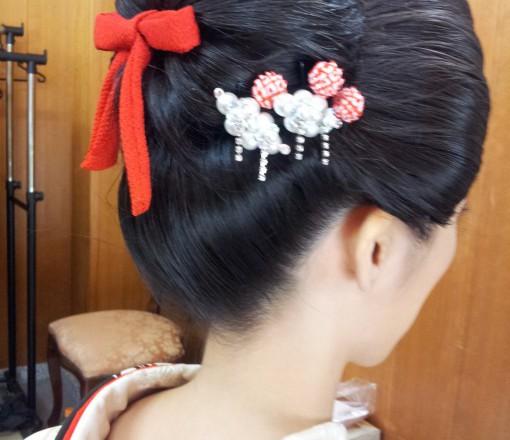 庇髪 結婚式