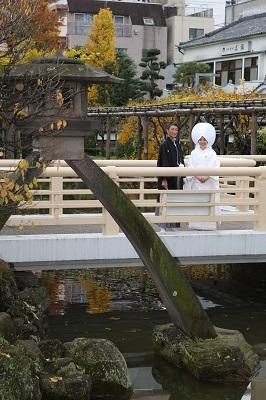 亀戸天神結婚式 白無垢 レンタル 着付け