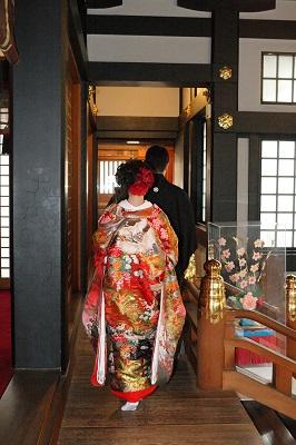 王子神社結婚式 白無垢レンタル着付けヘアメイク