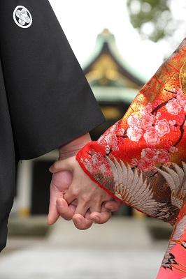 王子神社結婚式 打掛レンタル着付けヘアメイク