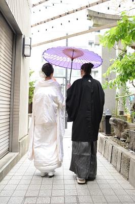 十番稲荷神社結婚式