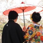 前撮り東京 お花