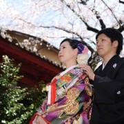 和装前撮り結婚式東京タワー 写真