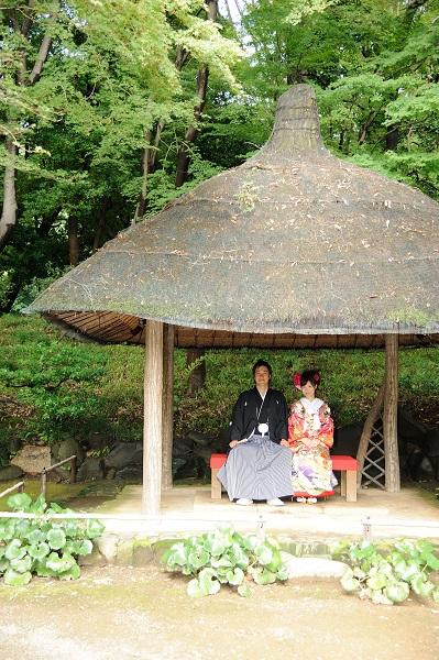 前撮り庭園 東京