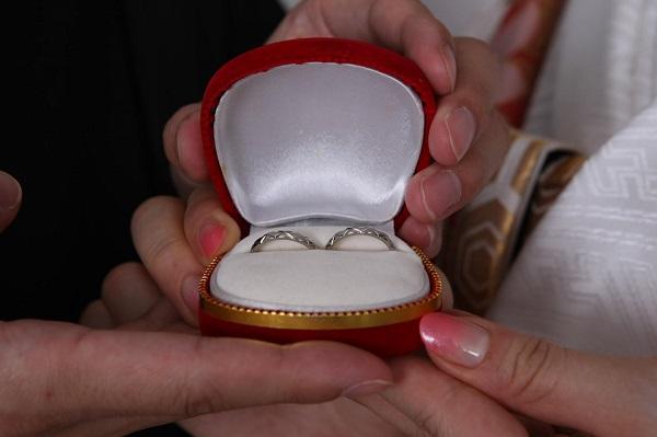 結婚指輪 和装