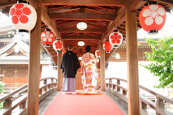 湯島天満宮結婚式 打掛レンタル着付けヘアメイク 写真撮影カメラマン