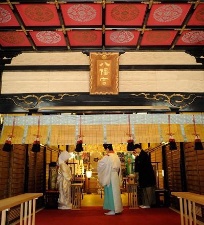 代々木八幡宮結婚式 白無垢結婚式写真