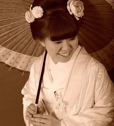 結婚式 新日本髪