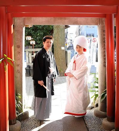 鳥越神社結婚式と披露宴