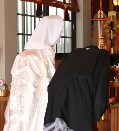 下北澤神社結婚式 白無垢