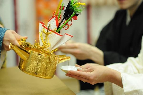 麻布十番稲荷神社 白無垢結婚式