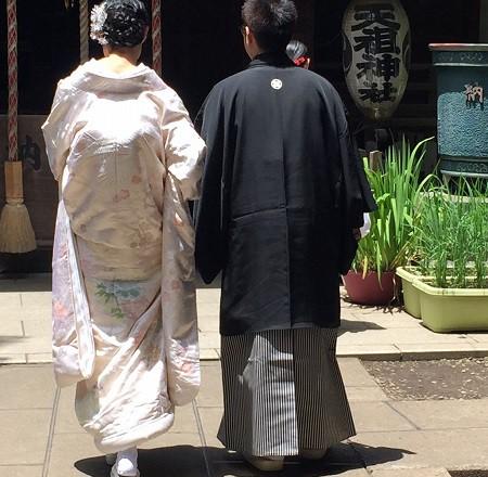 ときわ台天祖神社結婚式 白無垢レンタル着付けヘアメイク