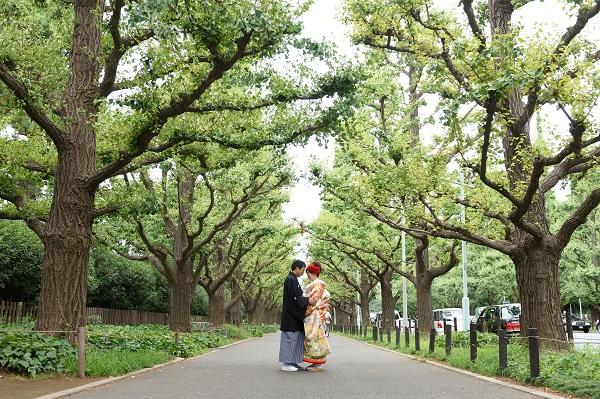 結婚式カメラマン 和装前撮り