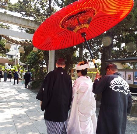 森戸神社結婚式白無垢レンタル着付けヘアメイク