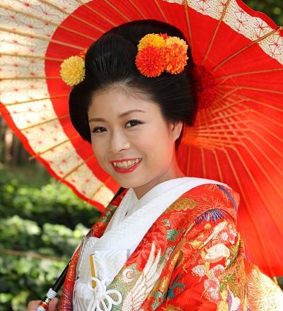 新日本髪結婚式花嫁