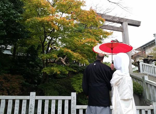 伊勢山皇大神宮結婚式