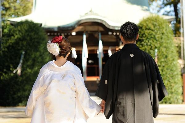 練馬区神社結婚式白無垢レンタル着付けヘアメイクカメラマン写真スナップ