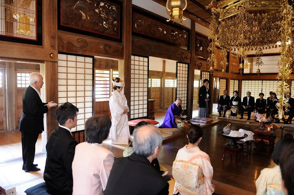 お寺結婚式