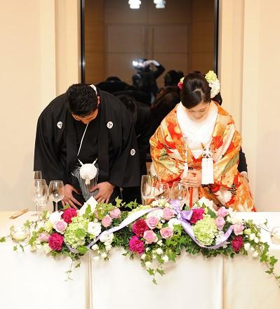 結婚式 白無垢 色打掛