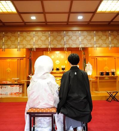 出雲大社東京分祀結婚式白無垢レンタル着付けメイクカメラマン撮影