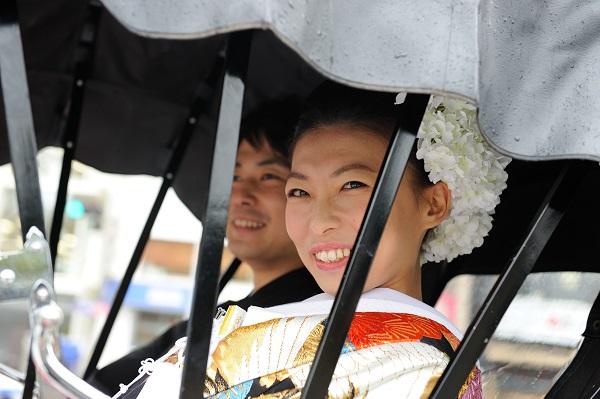 人力車結婚式東京